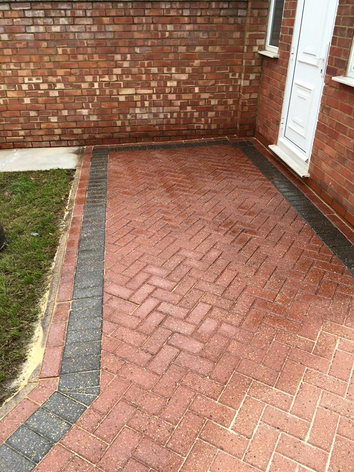 Block Paving Cleaning After sealing