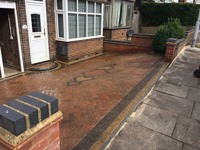 block paving cleaning luton